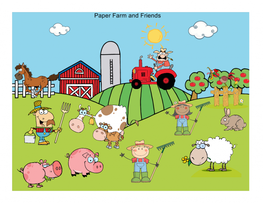 Farm Animals Craft Easy Paper Crafts For Kids